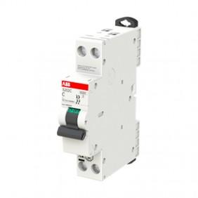 ABB compact circuit breaker S200C 20A 2P 6KA C...
