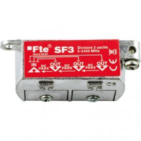 TV splitter FTE for digital terrestrial and...