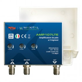 Pole Mount Amplifier FTE 2 Input LOG / UHF...