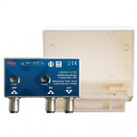 FTE Pole Mount Amplifier 2 Input VHF/UHF LTE...