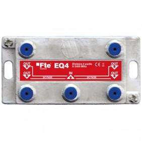 Divisore FTE Terrestre e Satellitare a 4 Vie EQ4