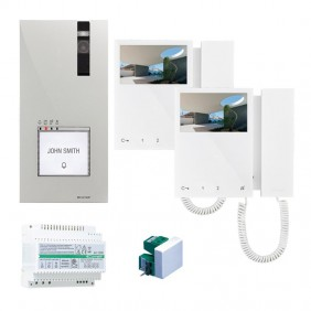 Comelit 2-wire video door entry kit with Mini...