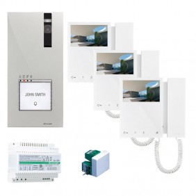 Comelit 2-wire video entryphone kit with Mini...