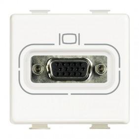 Presa Connettore Bticino Matix HD15 VGA bianca...