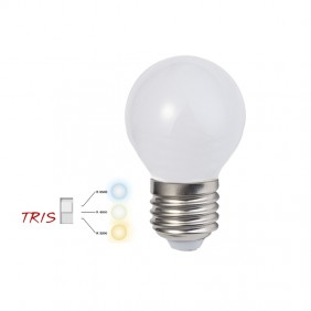LED Sphere Bulb Stone 6,5W attack E27 3/4/6K...