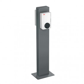 Abb column for 2 electric vehicle recharges...
