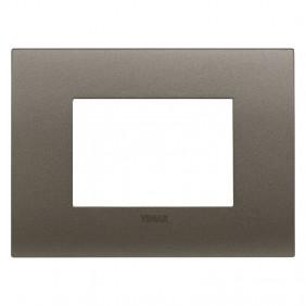 Plate Vimar FIT 3 modules metal 19953.14