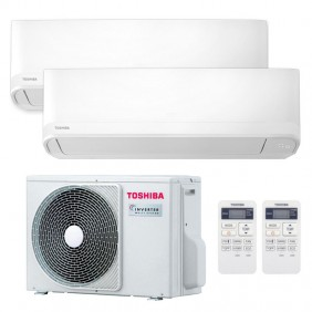 Air Conditioner Dual Split Toshiba Seiya...