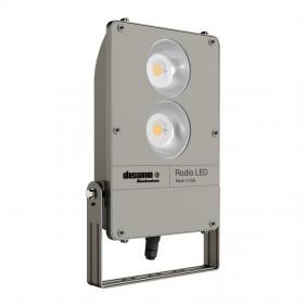 LED floodlight Disano 1897 Rhodium COB 196W...