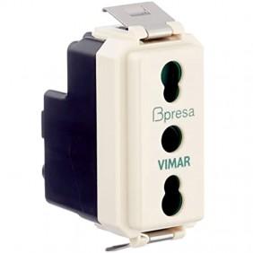 Presa Vimar 8000 SICURY 2X10/16+T 08145