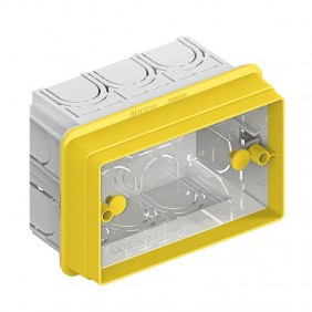Extension adapter Bticino box, recessed, 3...