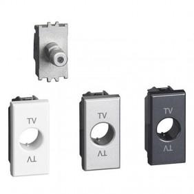 Bticino LivingLight TV and Sat socket Type f...