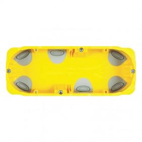Bticino universal flush mounting box for plasterboard 3 modules PB503N
