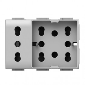 Universal double-pole and schuko 10/16A 3...