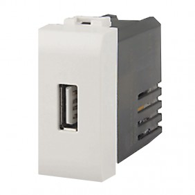 4box USB charger for Bticino LivingLight white...