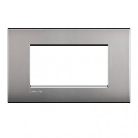 Bticino Livinglight placca AIR 4 moduli LNC4804NK