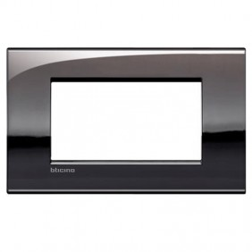 Bticino Livinglight placca AIR 4 moduli LNC4804PT