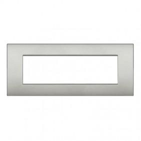 Bticino Livinglight placca AIR 7 moduli LNC4807GL