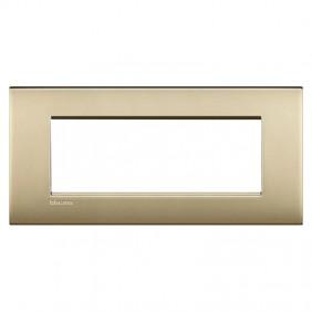 Bticino Livinglight plate AIR 7 modules LNC4807OF