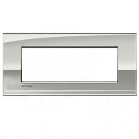 Bticino Livinglight placca AIR 7 moduli LNC4807PL