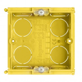 Bticino flush mounting box 2 modules 502E