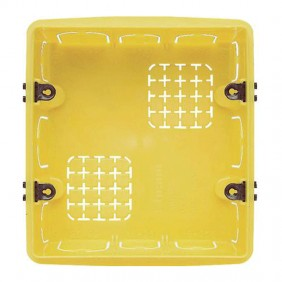 BTICINO BOX, RECESSED, UNIVERSAL 3+3 MODULES 506E