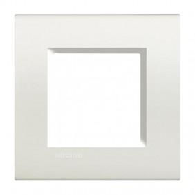 Bticino Livinglight placca 2 moduli quadra...