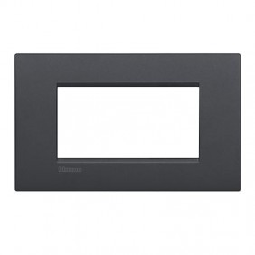 Bticino Livinglight plate AIR 4 modules LNC4804AR