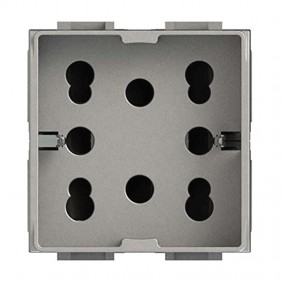 Universal double-pole and schuko 10/16A 2...