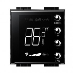 Bticino LivingLight recessed backlit thermostat...