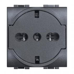 Bticino Livinglight FLAT schuko socket with...