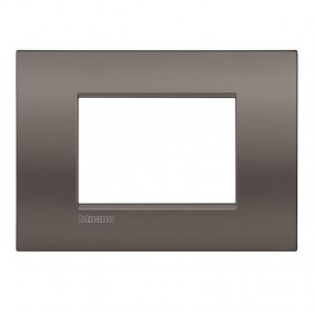 Plate Bticino LivingLight AIR clay 3 places...