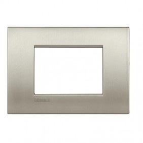 Plate Bticino LivingLight AIR brushed titanium...