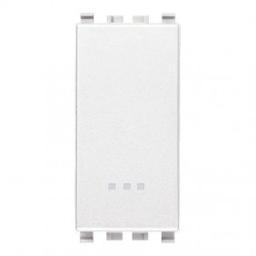 Switch Vimar Eikon white 1P 16A illuminated...