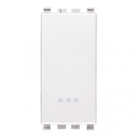 Inverter Vimar Eikon white 1P 16A illuminated...