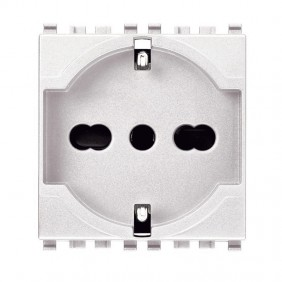Vimar Eikon universal schuko outlet white 2+E...