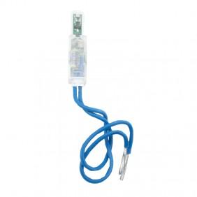 Vimar LED locator unit for axes light blue 230v...