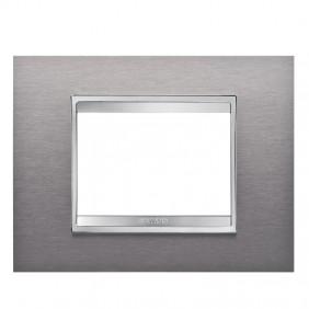 Gewiss Chorus plate LUX 3P GW16203MI