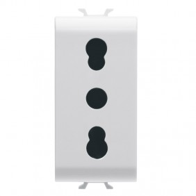 Gewiss Chorus two-way socket 10/16A GW10203