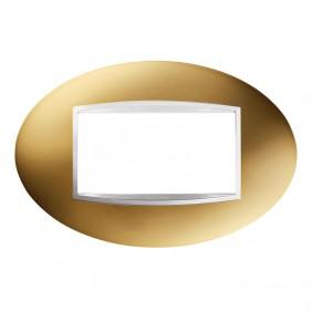 Gewiss Chorus 4P ART plate GW16304MO