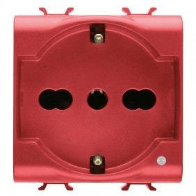 Gewiss Chorus unel two-pin round socket 10-16A...