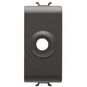 Hole cover Gewiss Chorus 1 module with central...