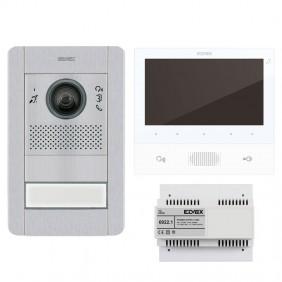 KIT Videocitofono Vimar Elvox Monofamiliare con...