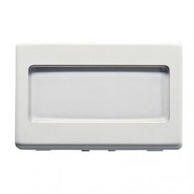 Gewiss system 3-module door switch white GW20024