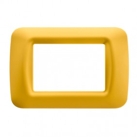 Top plate Gewiss system yellow corn 3-seater...