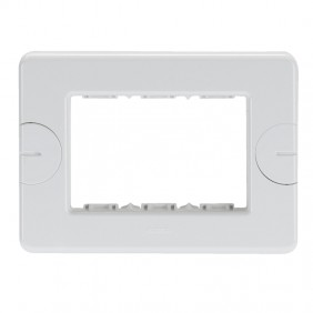 White self-supporting plate Gewiss system 3...