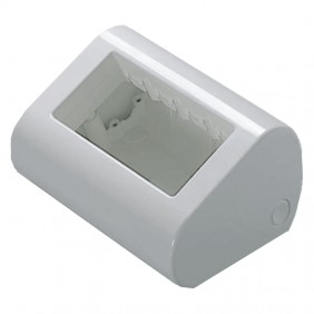 Gewiss table-top container 4 places white GW24018