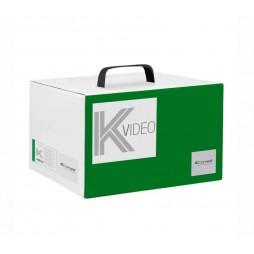 Kit base impianto Videocitofono Comelit 2 fili pulsantiera ikall 8000