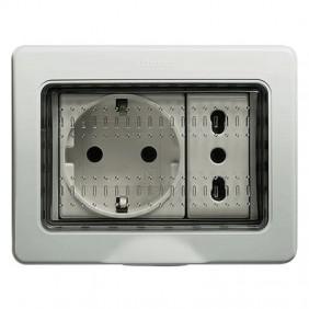 Bticino Idrobox custodia IP55 3 moduli 25503