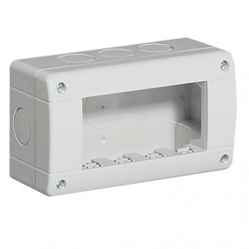Bticino Custodia IP40 4 moduli 24404